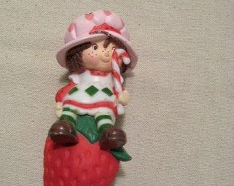 Vintage Strawberry Shortcake Christmas Ornament