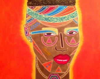 GRACE I - Original painting Divine Feminine powerful woman