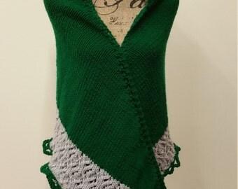 Harry Potter Slytherin shawl