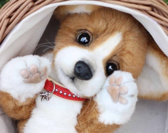 Realistic puppy Welsh Corgi Pembroke Kelly (MADE TO ORDER)