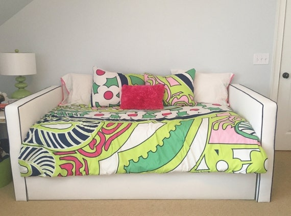Custom Daybed with Trundle - Design Your Own in ANY Fabric