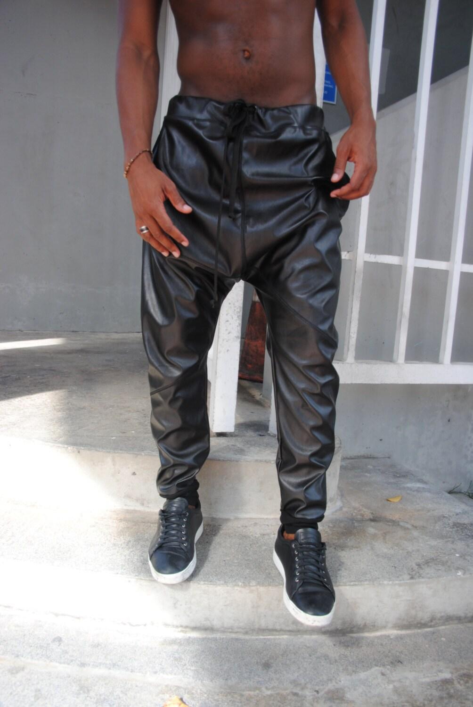 leather harem pants men - photo #31