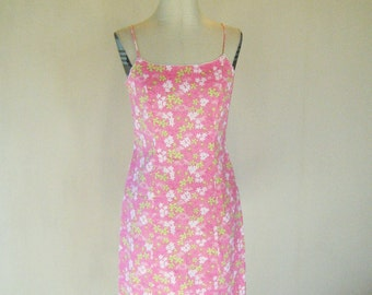 Lilly Pulitzer Happy Hippo Pink Wiggle Dress