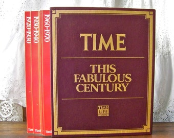 Vintage Fabulous Century Time Life Series Home Library Magazine Set Home School ca. 1988