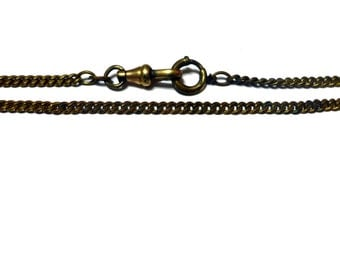 Gold Filled Pocket Watch Chain - 14 Inches Long