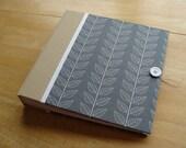 8x10 Photo Album/ Gray Wedding Scrapbook Photo Album