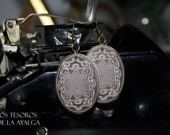 Celtic  earrings - customizable