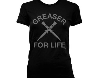 Greaser for Life The Outsiders WOMEN'S T-shirt