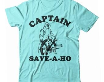 Captain Save-A-Ho UNISEX Tshirt