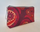 Small Indian Mandala Tapestry Zipper Storage Pouch S84