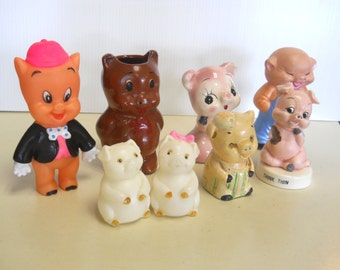 Pig Collection (Group A)  Standing Pigs