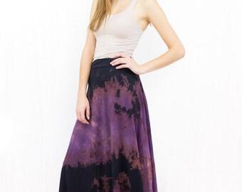 Organic maxi skirt | Etsy