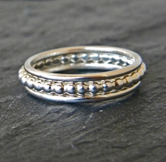 sterling silver stacking rings womens silver rings silver