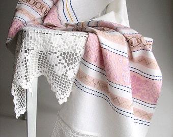 Vintage Hand Woven Towel