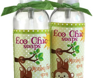 Monkey Farts  - Room Deodorizer Spray and Linen Spray