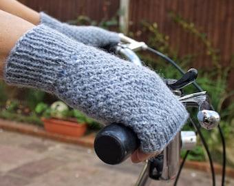 Fingerless Gloves, Wool Gloves, Women's Gloves, Fingerless Mittens, Girlfriend Gift, Gift for Her