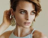 Super Lush Drop Earrings - Classic - Laser Cut Lush Glitter Earrings - Each To Own