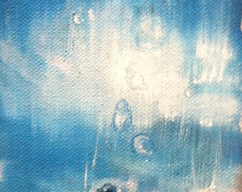 after the rain 2 original painting contemporary art