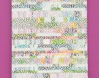 ARTA textured cotton-blend fabric