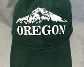 Oregon, Wy'East, Hood, Mountains, Cascades, Baseball Hat