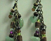 Peace Aventurine Earrings-100% Proceeds to Charity & Free Shipping