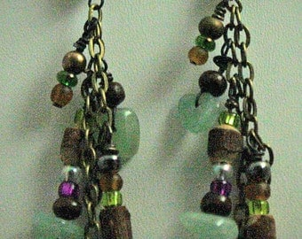 Walk Peace Aventurine Earrings-100% Proceeds to Charity & Free Shipping