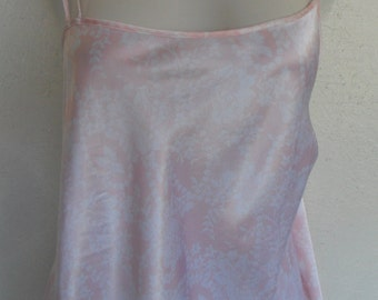 Vintage Chemise Nightgown Pink Nightie Size 2X by Avon Intimates
