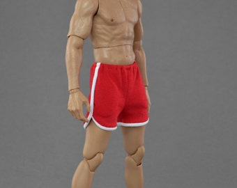 1/6th scale running shorts