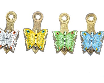 Butterfly Paper Clip Butterfly Note Holder Brass Butterfly Clip Butterfly Office Supplies Butterflies