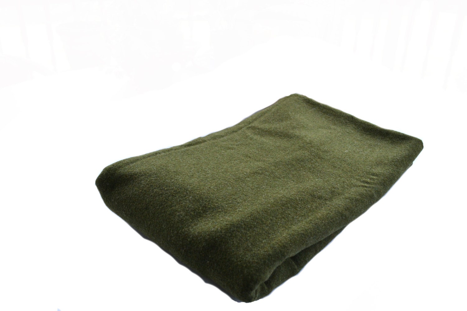 Military Blanket Wool Blanket Army Blanket Green Blanket