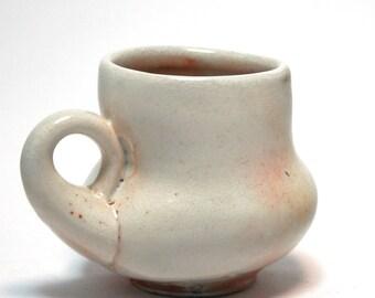 White Shino Mug
