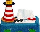 Lighthouse Tissue Box Cover Sample Model for Sale