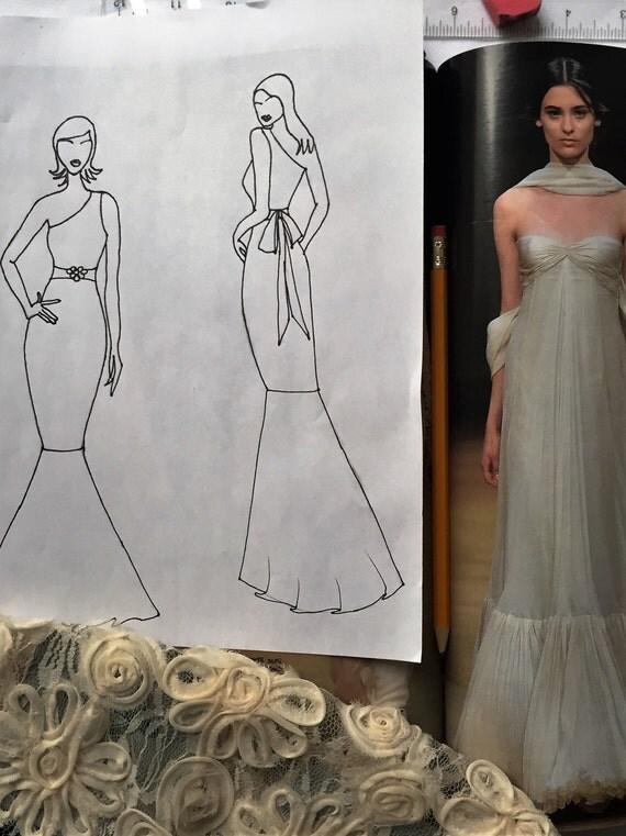 Design Your Own Custom Wedding Dress Custom Wedding Dress