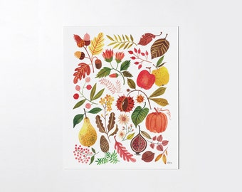 AUTUMN - 8x10 art print
