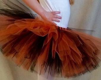 Black and Orange Tutu, Tiger Tutu, Halloween Costume, Baby Shower Gift, Birthday Party Tutu, Smash Cake Photo Shoot, Witch Costume