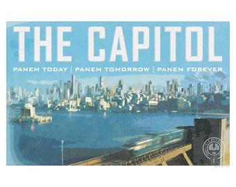 Hunger Games Poster, Panem Capitol