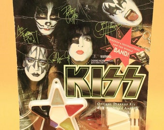 Vintage 90s KISS Official Makeup Halloween Decor Costume Gothic Memorabilia Collectibles