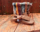 """AK BABY DESIGNS """"Elegant Leather Baby Boots"""" - Little Brianna"""
