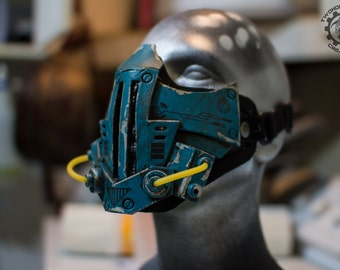 Xenogeist - Cyberpunk dystopian mask ''Stigma'' Variant. - Ready to ship