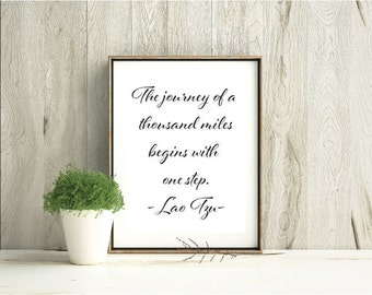 Downloadable printable quote artwork IW012