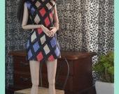 Silica Boatneck Shift Dress for 1:6 Fashion Dolls