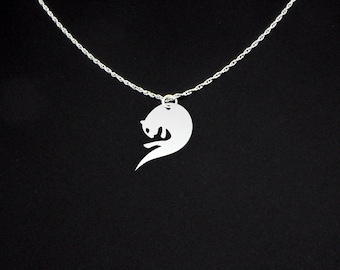 Otter Necklace - Otter Jewelry - Otter Gift