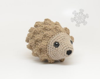 Light Tan Hedgehog, Woodland Animal, Natural Toy, 100% Wool