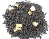 Banana Tea, GOING BANANAS Tea Blend ,Organic Loose Leaf Black Tea,Laffy Taffy, Iced Tea, Banana Tea, Fruit Tea , Caffeinated, 2oz, Eco Box
