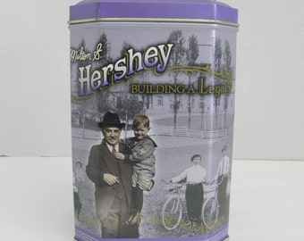 HERSHEY Chocolate Building a Legacy Series Advertising TIN Series  #3 Collectible