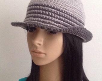 Crochet Cloche.....Crochet  Hat..... Cloche...Woman Crochet Hat... Handmade Cloche