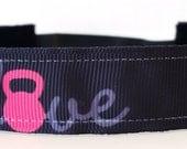 Crossfit Headband - Running Headband - Kettlebell Headband - Fitness No Slip Headband - No Slip Headband - Non Slip Headband - Crossfit Gift