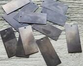 Vintaj Arte Metal {Rustic 32x14mm Rectangle Artisan Blank} DIY JEWELRY, Mixed Media, Crafting, Home Decor + More - 12 Pcs #AHW0001