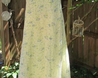 Vintage Prairie Style Costume Dress, Handmade Boho Dress, Vintage country costume