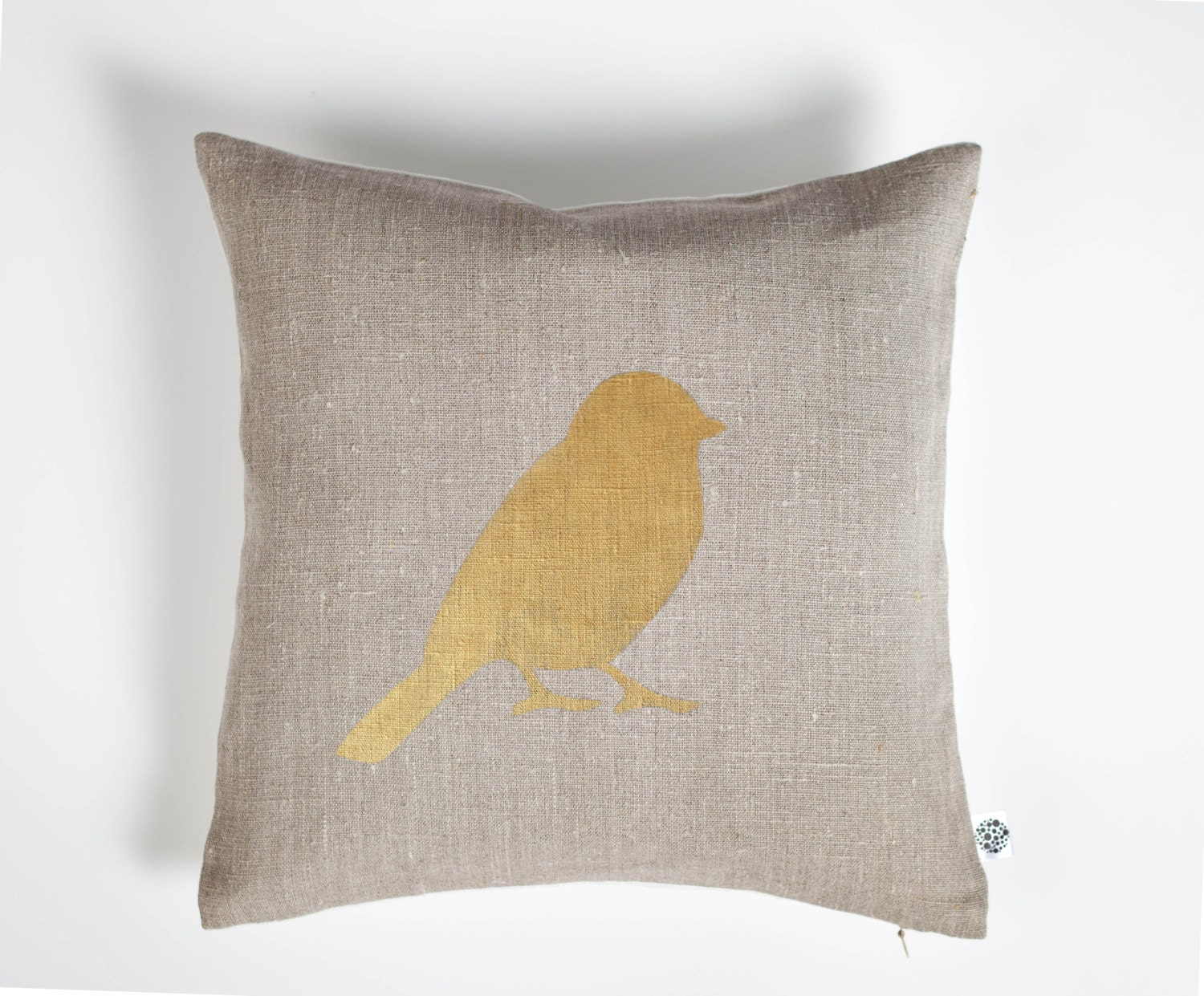 Throw Pillows With Birds : Bird throw pillow decorative bird pillow cover throw